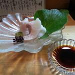 寿司割烹 西村 - タイの洗い