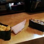 寿司割烹 西村 - 北海道うにvs九州うに