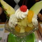 竹とんぼ - マロンパフェ