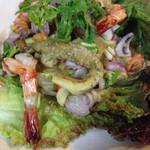 タイレストラン イサーン - ヤム マクア(焼きナスサラダ)