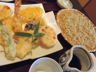 蕎麦処 鰹 - 天ぷらせいろ