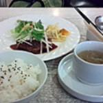 シエロアスール・カフェ - 手ごねハンバーグ定食
