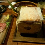 29810561 - 仙台牛の岩塩焼き