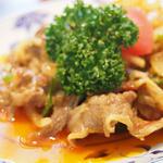スラバヤ - 牛肉のサンバル炒め