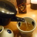 越後長岡 小嶋屋 - 最後に蕎麦湯を頂きます