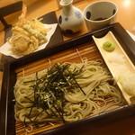 越後長岡 小嶋屋 - しっかりとへぎ蕎麦を頂きました。 「天へぎ (1793円)」