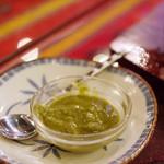 インド料理夢タージマハール吉祥寺 - タンドリーチキンなどに付けると美味しいミントソース
