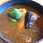スープカリー クフウ - チキンカレー(辛さ5番)