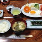 松田屋 - 料理写真:朝ごはん