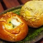 タグチベーカリー - カレーパン、ローズマリー