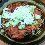 六文そば - 本日の一日一麺は、生姜天そば!