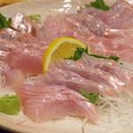 庄司鮮魚店 - 料理写真:金目鯛刺し