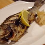 庄司鮮魚店 - イサキの焼き物