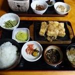 29818505 - 焼き豆腐定食