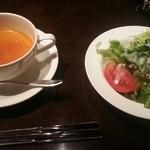 リュクス タジマヤ - スープとサラダ