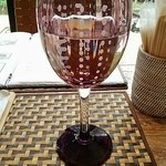 Micasadeco&Cafe - 20140713訪問。お水はこんなグラスで。