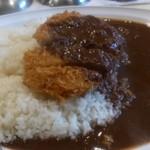 カレー専門店 横浜 - カツカレー 中盛り 辛口
