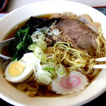 富士見高原スノーリゾートレストラン - 料理写真:ラーメン、550円(2009年)。