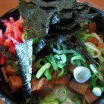 らー麺藤平 - チャーシュー丼