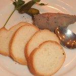 高輪バール・デルソーレ - 地鶏の白レバーパテ