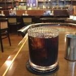 UCCカフェプラザ - ドリンク写真:モーニングのドリンクは、アイスコーヒーにしました