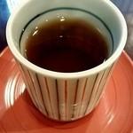 甘味処 ぎおん楽楽 - 冷たいお茶