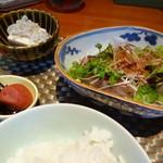 和おん - 造 かつをたたき 小鉢 冷奴 香の物