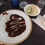 珈琲のシャポー - カレーセット 1,500円