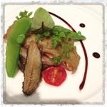 """レ・セレブリテ - ホテル日航熊本""""レ・セレブリテ""""『メイン』 …今回は魚料理をチョイス。"""
