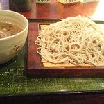 カネシメ柿崎 - 鴨ざる(大盛り)