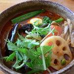カレー気分 - チキン野菜+舞茸