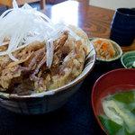 奥盛 - 味処 奥盛 豚ぷら丼