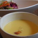 ソガベ西条西洋料理 - コーンスープ