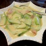 中国菜家明湘園 - 青梗菜のクリーム煮込み!(2014,08/11)