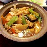 中国菜家明湘園 - 五目おこげ!(2014,08/11)