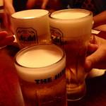 韓杯房 プルダ - ハイトビールとアサヒ!!