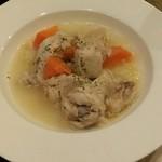29834799 - 鶏肉のクリーム煮☆                       優しい塩味が効いていて美味しい!                       やっこくてほろほろです。