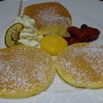29835751 - エスプーマを使ったふっくらパンケーキ