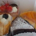 洋菓子工房ケイキチ - <2014年8月>洋菓子工房ケイキチ 購入したケーキ♪ fromグリーンロール