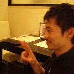 おず smoked和taste - イケメン店長さん(写真掲載許可はいただきました)