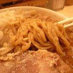 江戸甘 - 超長~い縮れ麺
