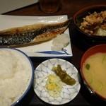 29843234 - (2014/5月)本日の魚定食1,000円全景