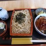 そば処 清水屋 - カツ丼セット