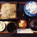 こばやし - 料理写真:ミニうな丼&もり セット 1,350円