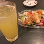 29847194 - 夏みかんチューハイと呉豆腐
