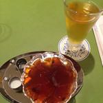 29849125 - 紅茶ゼリーと水出し紅茶のセット ¥1000