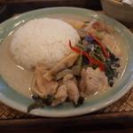 CHANG-NOI - CHANG-NOI(チャンノイ)の鶏肉のグリーンカレー(14.08)