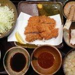 黒かつ亭 - 黒かつ亭定食