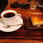 音茶屋 - ゆきんこチーズケーキとウガンダコーヒー