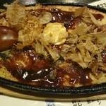 弁天 - 山芋の鉄板焼